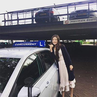 geslaagd voor rijbewijs rijschool