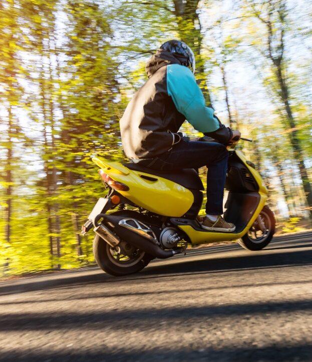 practical exam scooter